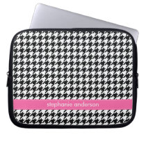 Houndstooth Pattern Computer Sleeve