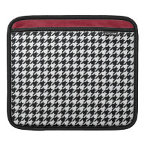 Houndstooth Pattern iPad Sleeve