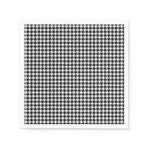 Houndstooth Pattern Napkin