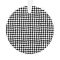 Houndstooth Pattern Ornament