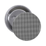 Houndstooth Personalized Button