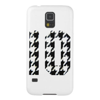 Houndstooth Print Number 10 Galaxy S5 Case