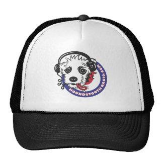 Houndstooth Radio Baseball Cap Mesh Hats