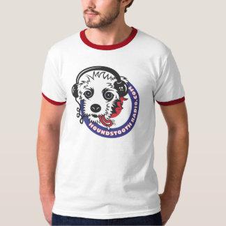 Houndstooth Radio Ringer T-Shirt