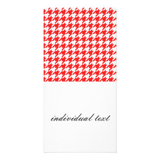 houndstooth red (I) Card