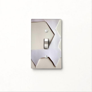 HOUNDSTOOTH SINGLE TOGGLE LIGHT SWITCH LIGHT SWITCH COVER