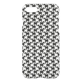 Houndstooth Tesselation with dogs Iphone case