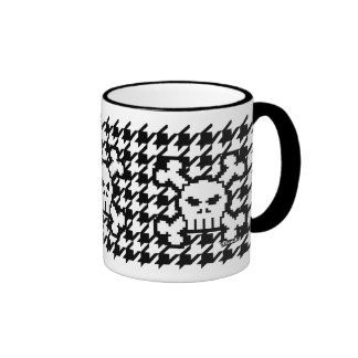 Houndstoothe & Skulls Mugs