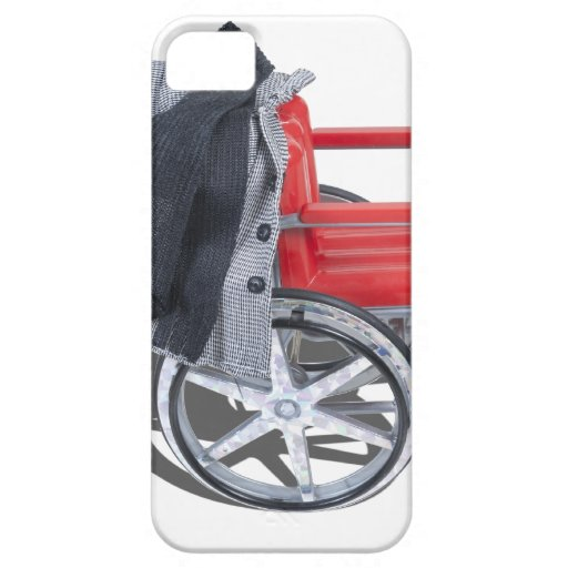 HoundstoothJacketWheelchair090912.png iPhone 5 Cárcasa