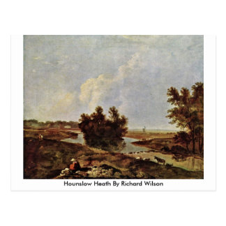 Hounslow Heath By Richard Wilson Postcard