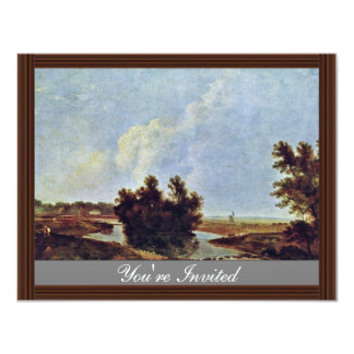 Hounslow Heath By Wilson Richard (Best Quality) 4.25x5.5 Paper Invitation Card