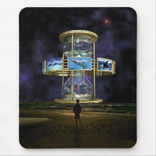 Hour Glass Concept One copy Mouse Pad