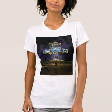 Beach Themed Hour Glass Concept One copy T-Shirt