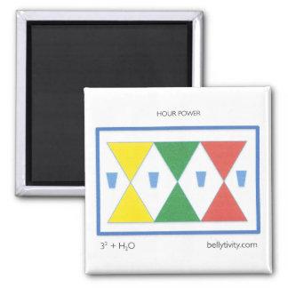 hour glass refrigerator magnet