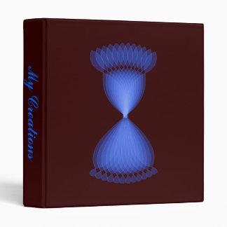 Hourglass 3 Ring Binder