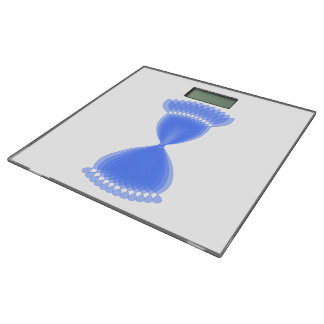 Hourglass Bathroom Scale