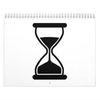 Hourglass Clock Calendar