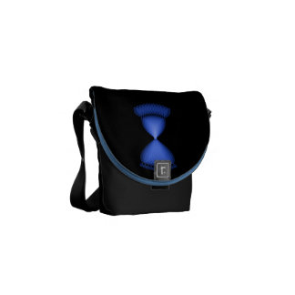 Hourglass Courier Bag