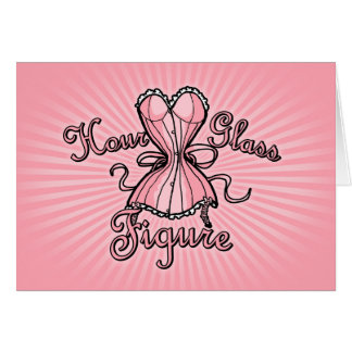 Hourglass Figure Card
