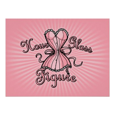 hour glass figure. Hourglass Figure Poster by
