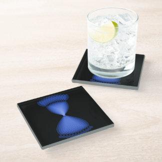 Hourglass Glass Coaster