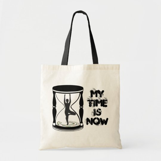 Hourglass - Inspirational Yoga Gift Tote Bag