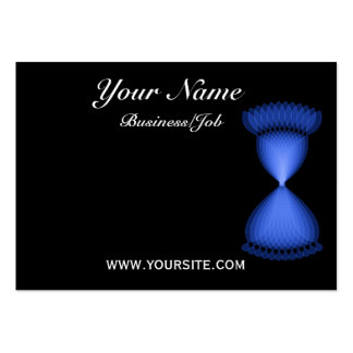 Hourglass Large Business Card