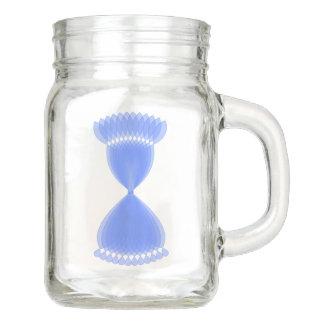 Hourglass Mason Jar