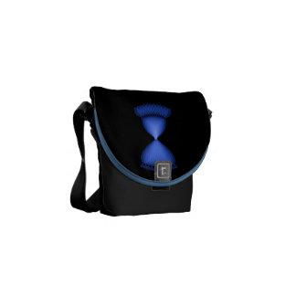 Hourglass Messenger Bag