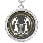 hourglass mourning jewelry