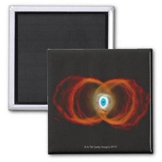 Hourglass Nebula 2 Inch Square Magnet