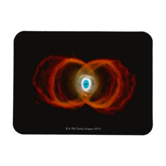 Hourglass Nebula Rectangular Photo Magnet