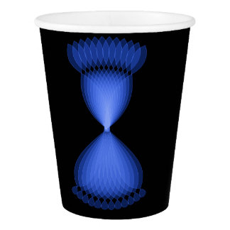 Hourglass Paper Cup