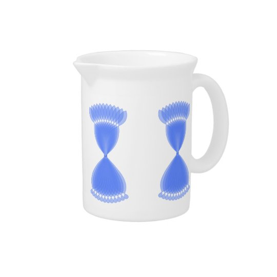 Hourglass Pitcher