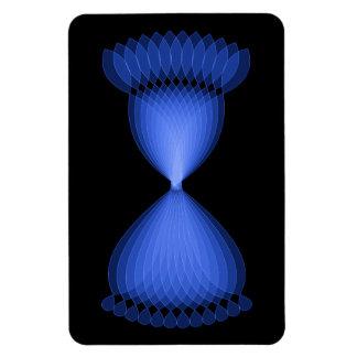 Hourglass Rectangular Photo Magnet