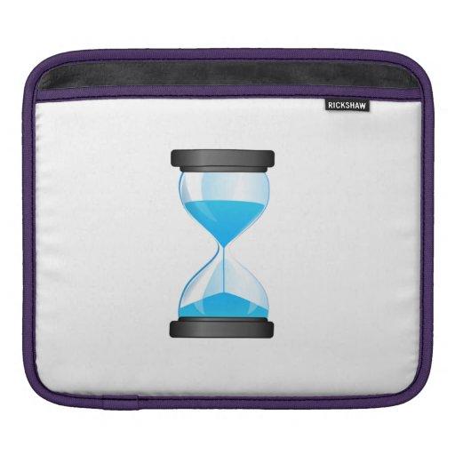 Hourglass Sand Timer iPad Sleeve