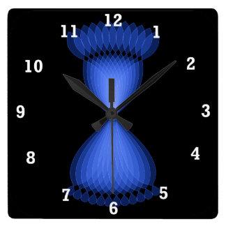Hourglass Square Wall Clock