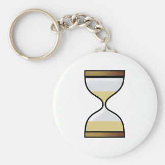 Hourly glass of hourglass egg timer hourglass keychain