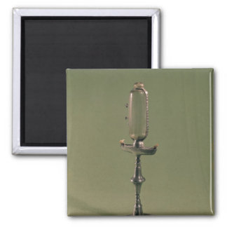 Hourly lamp, 1677 2 inch square magnet