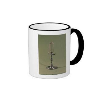 Hourly lamp, 1677 ringer mug