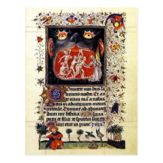 Hours of Catherine of Cleves Postcard