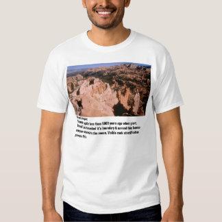 Hours vs. millennia tshirts