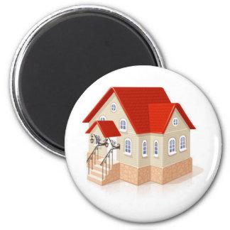 house1 imán redondo 5 cm