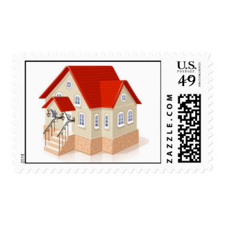 house1 postage stamps