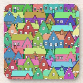 House 001 coasters