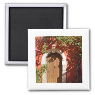 House 2 Inch Square Magnet