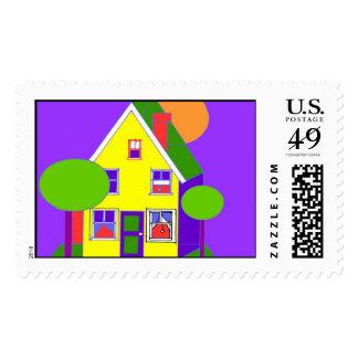 house 300dpi illustrator copy postage