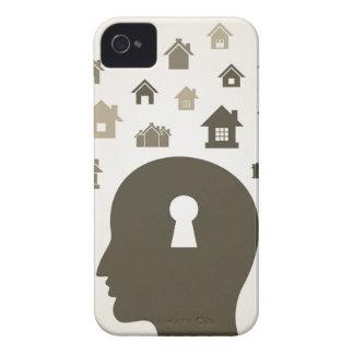 House a head Case-Mate iPhone 4 case