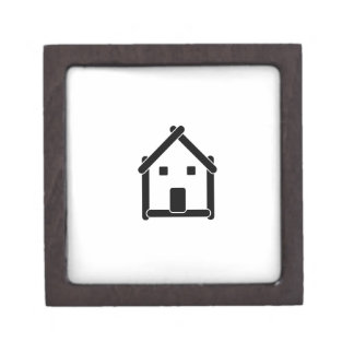 House abstract real estate countryside gift box
