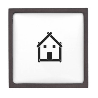 House abstract real estate countryside jewelry box